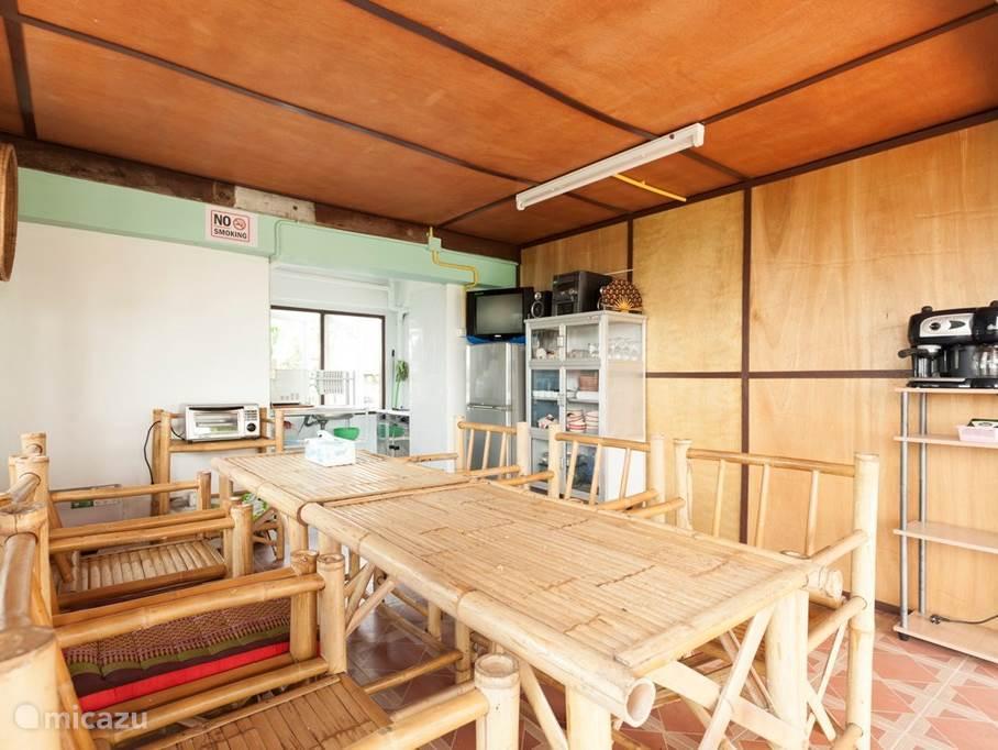 Keuken met eetgedeelte / recreatie ruimte