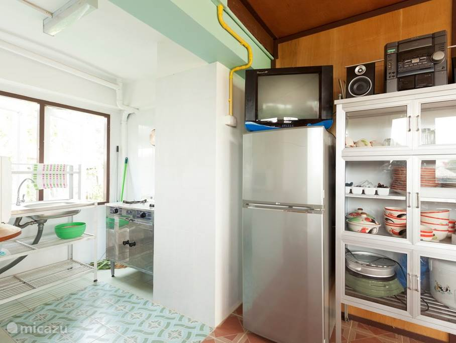 Keuken ruimte met alle faciliteiten