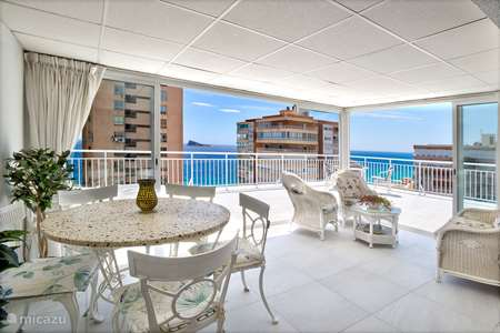Vacation rental Spain, Costa Blanca, Benidorm apartment Luxury Penthouse,sea 2x roofterrace