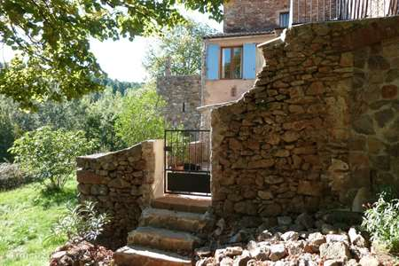 Vacation rental France, Gard, Robiac-Rochessadoule  gîte / cottage Mas Bernadis, Bresis