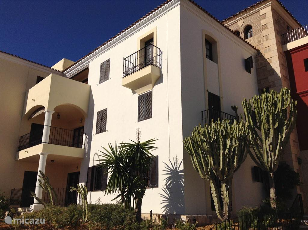 Vakantiehuis Spanje, Andalusië, Villaricos - appartement La Fortaleza
