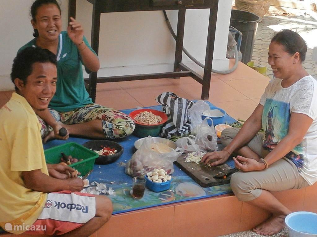 Balinese cooking