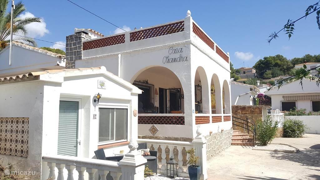 Vakantiehuis Spanje, Costa Blanca, Benissa – vakantiehuis Casa Danada