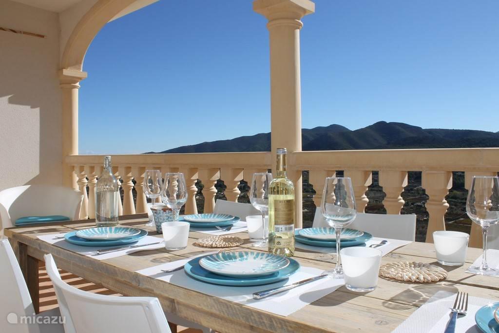 Lunchen met een fantastisch uitzicht
