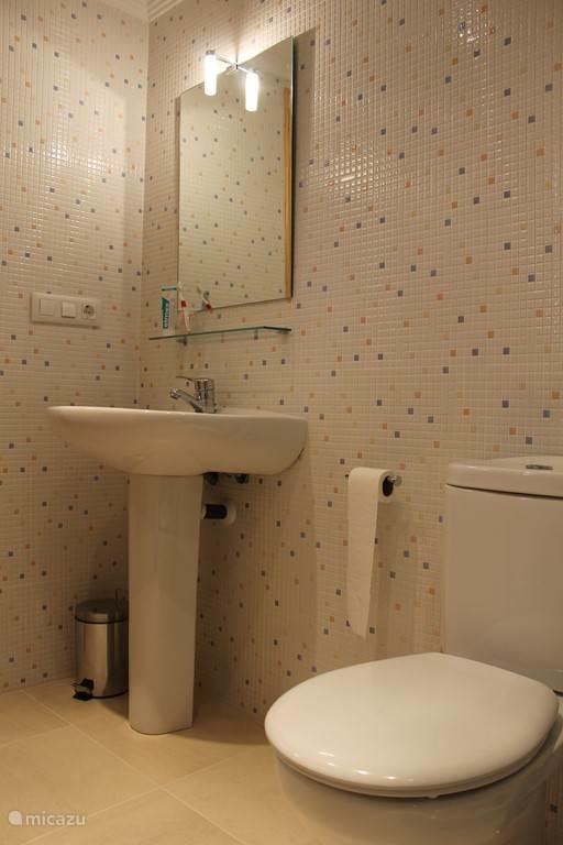 badkamer benedenverdieping