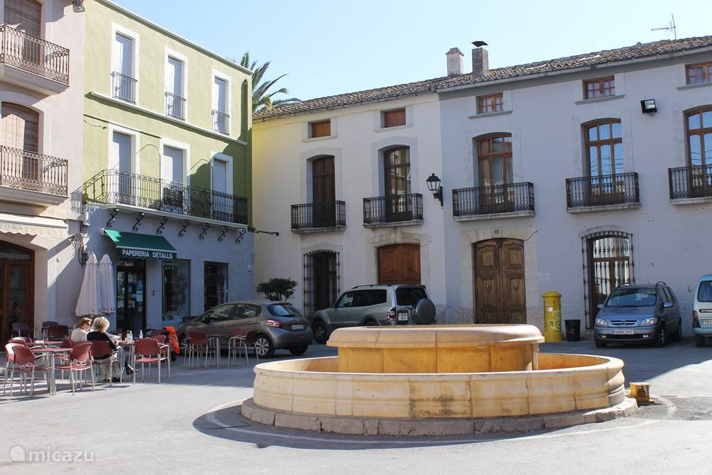 Plaza Mayor in Jalon