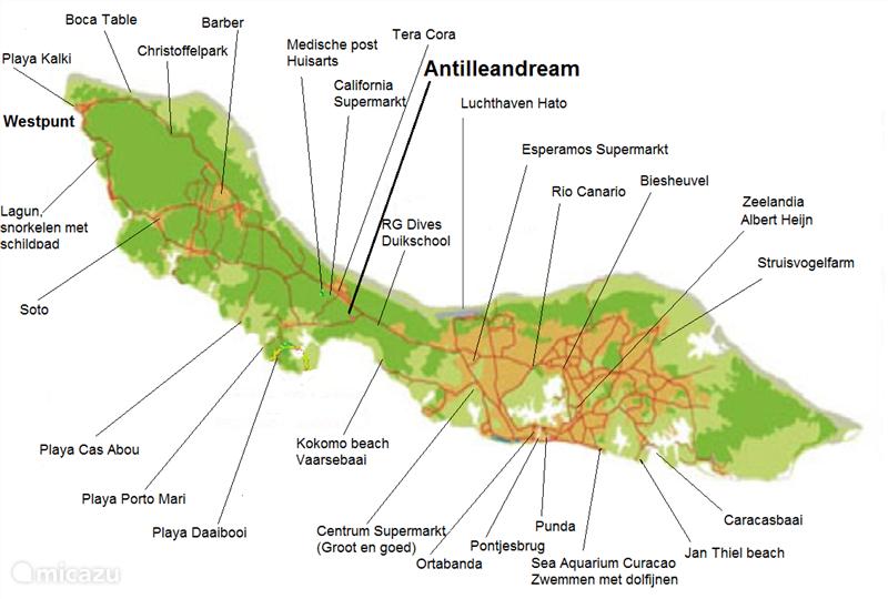 Kaart eiland