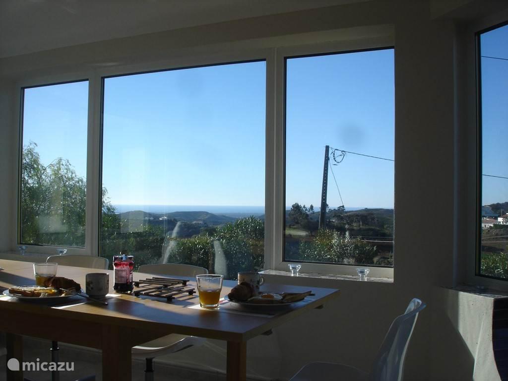 Ontbijt met zo'n fantastisch uitzicht!