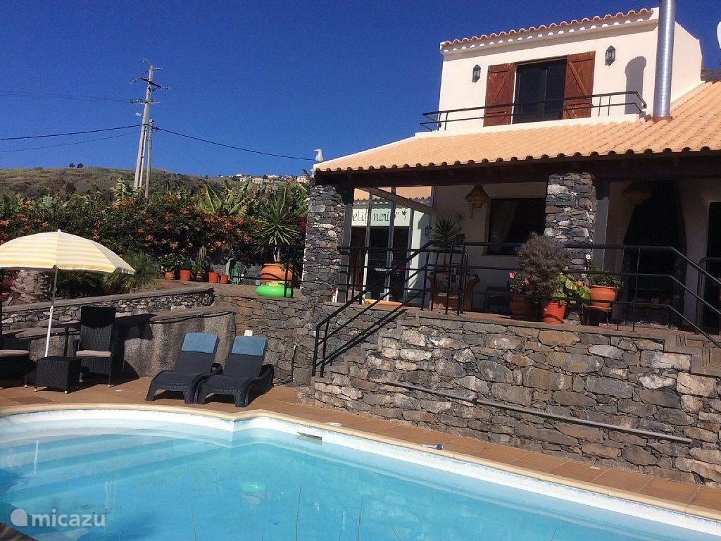 Vakantiehuis Portugal, Madeira, Madeira villa Poelifinario