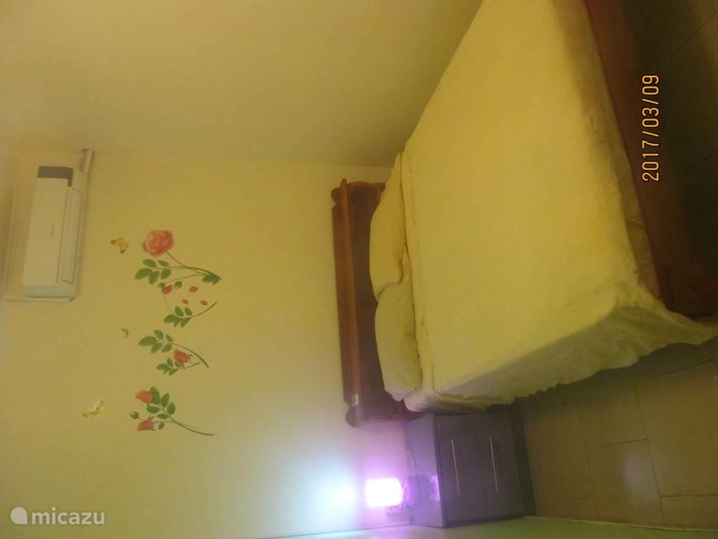 Slaapkamer 2 met airco