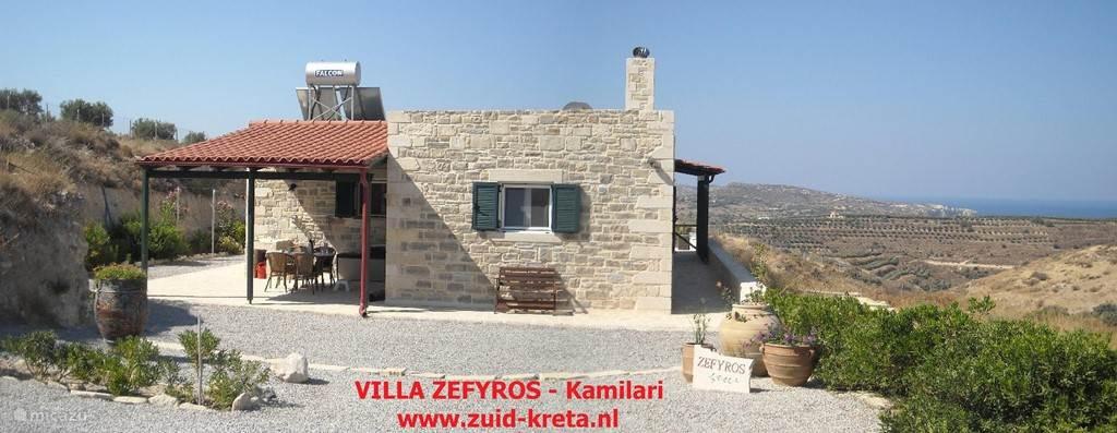 Villa Zefyros - Kamilari