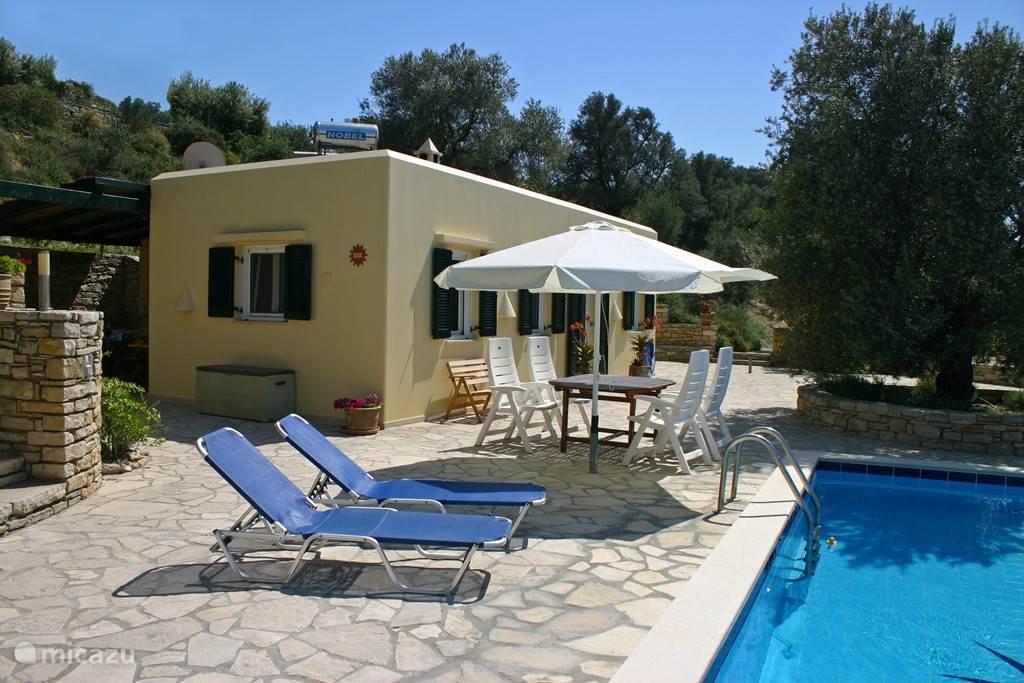 Vakantiehuis Griekenland, Kreta, Kamilari Villa Villa Ilios vrijstaande Villa