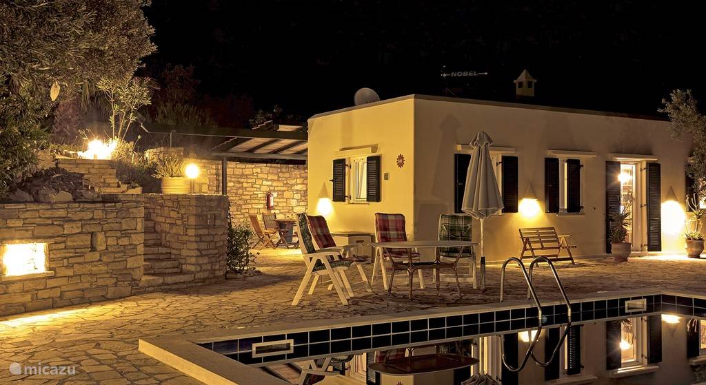 Villa Ilios by night