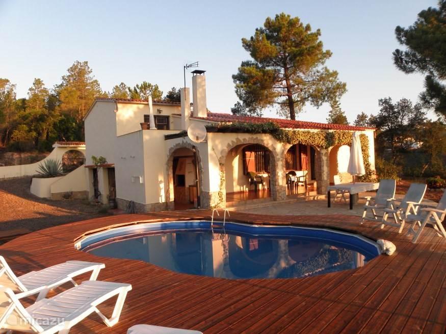 Het huis met zwembad