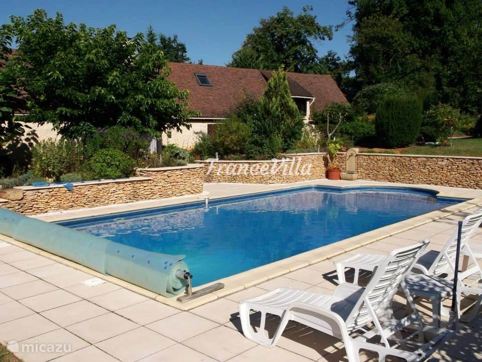 Vacation rental France, Dordogne, Gourdon villa Perade