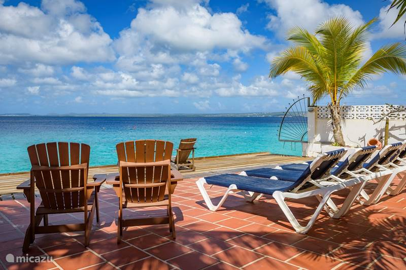 Vacation rental Bonaire, Bonaire, Belnem Apartment Casa Iguana directly on the sea