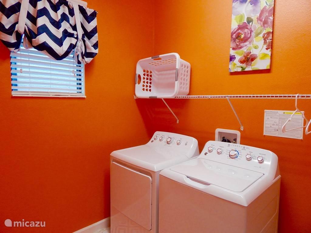 Wasmachine en droger voor gast-gebruik