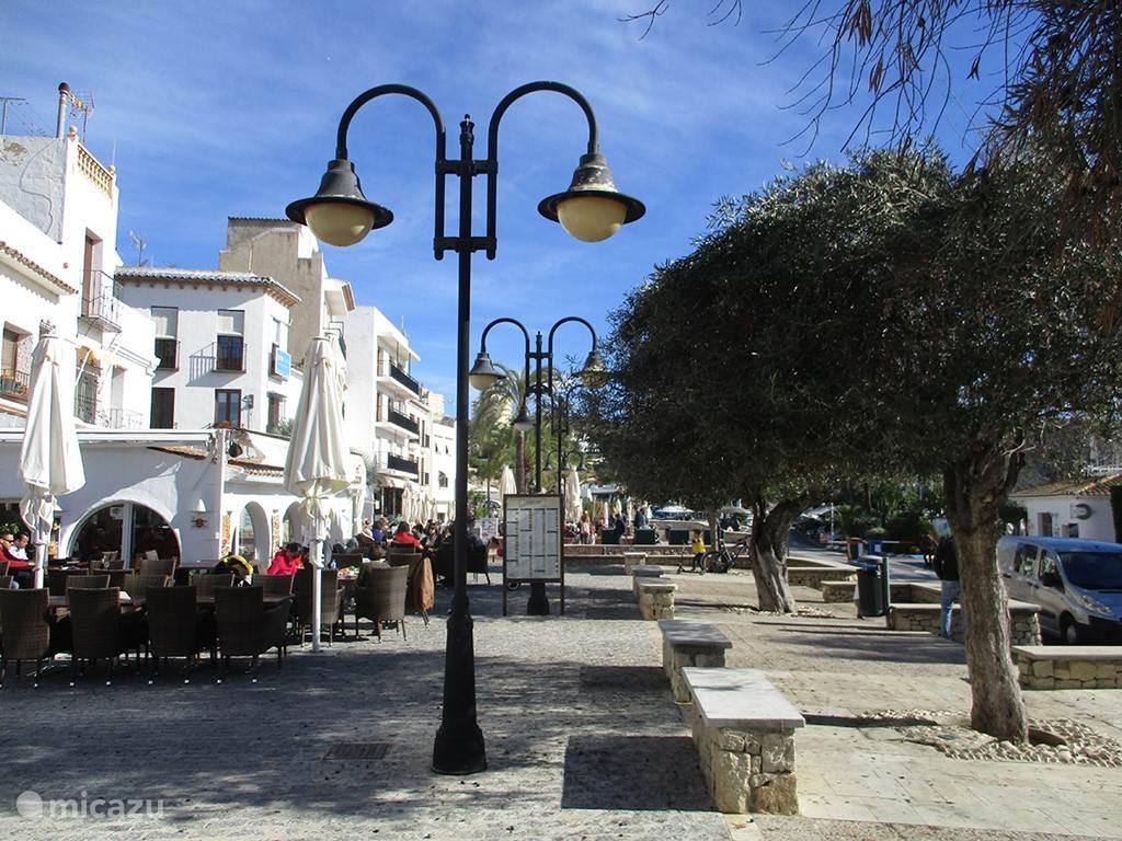 Vakantiehuis Spanje, Costa Blanca, Moraira appartement Central Moraira, appt, groot terras