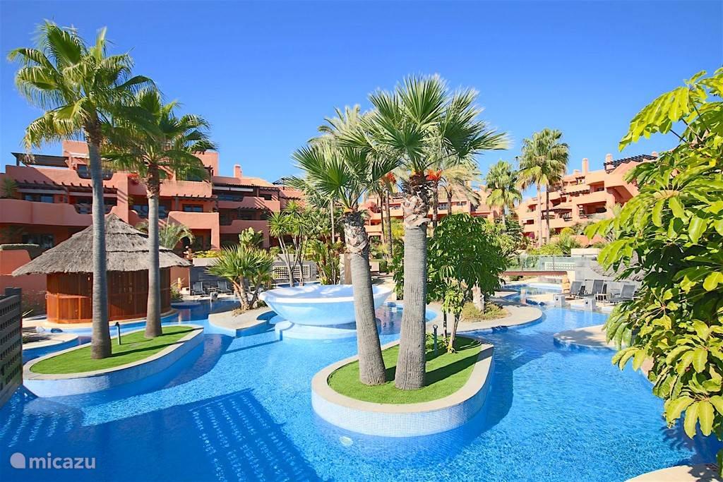 Vakantiehuis Spanje, Costa del Sol, Estepona appartement Appartement Mar Azul