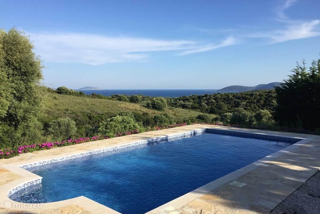 Vakantiehuis Griekenland, Peloponnesos, Finikounda Vakantiehuis Griekse villa aan zee