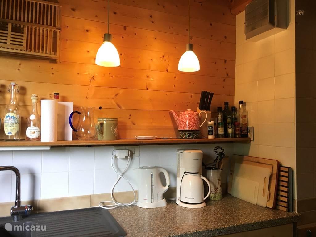 Keuken, deel van het aanrecht