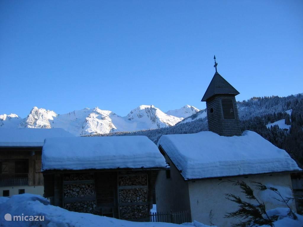 La Chapelle du Nant Robert, iets verderop aan de weg