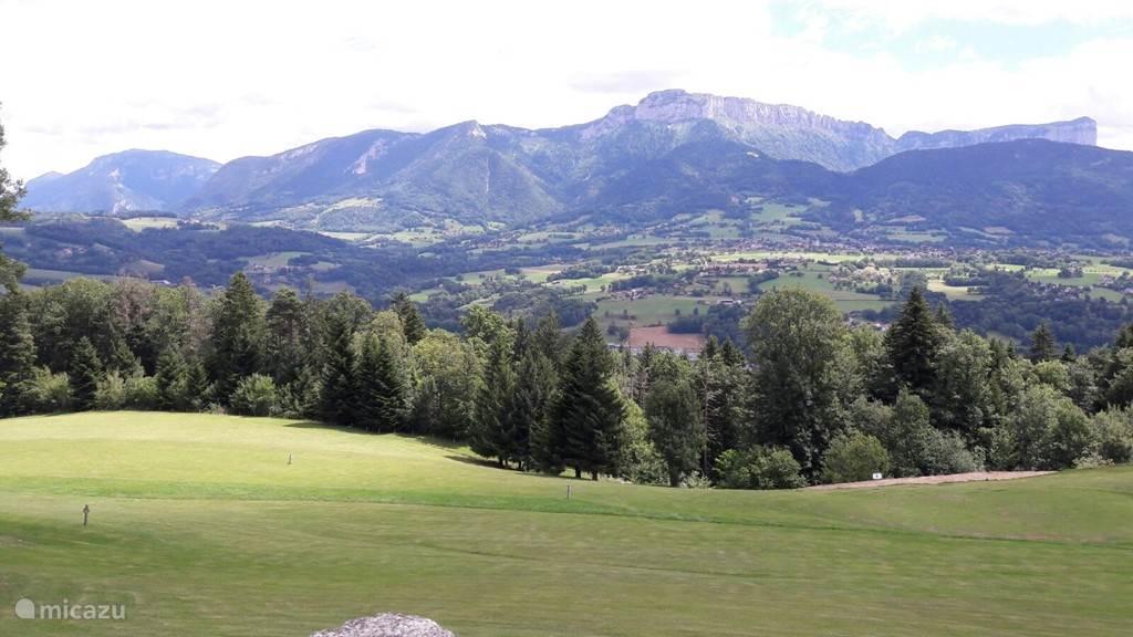 Golfclub St. Martin Bellevue, iets ten noorden van Annecy