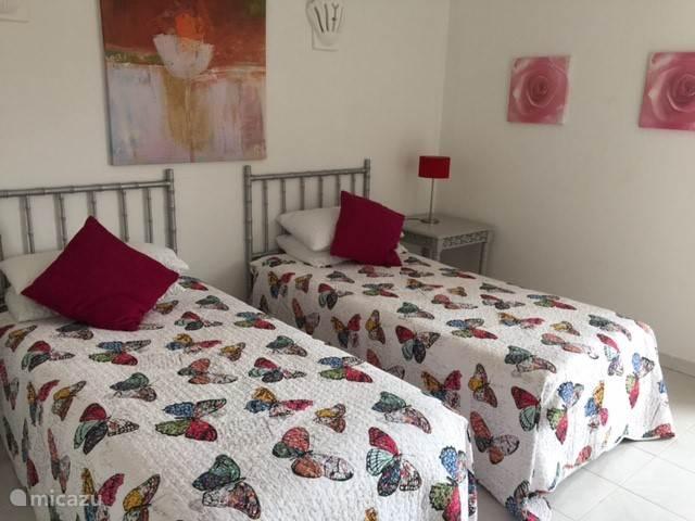 Twee slaapkamers gelijkvloers