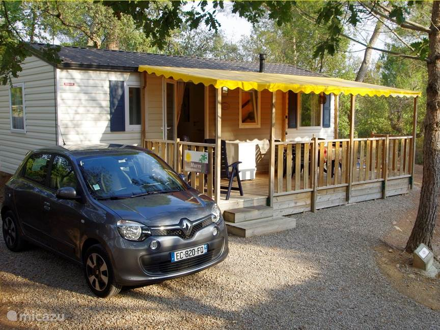 Vacation rental France, French Riviera, Roquebrune sur Argens mobile home Trigano Mobile Home