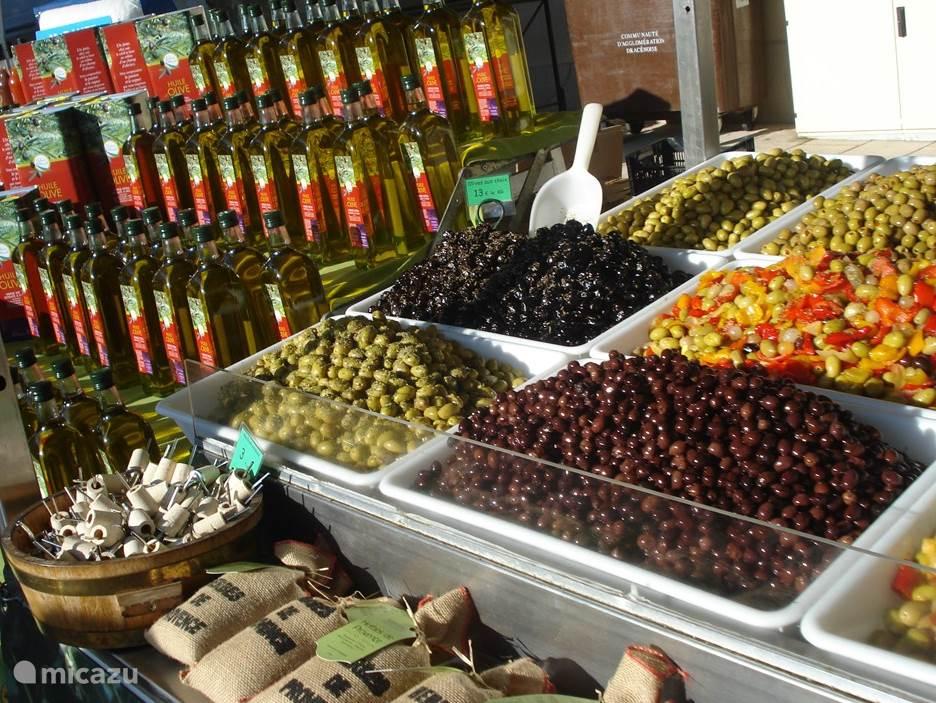 Producten uit de Provence