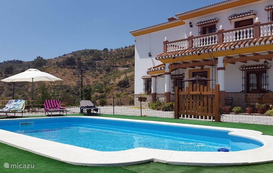 Vakantiehuis Spanje, Andalusië, Comares Villa Villa Carolina