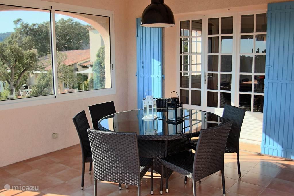 Terrace for dinner