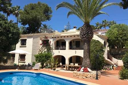 Vacation rental Spain, Costa Blanca, Moraira villa Villa Andrago