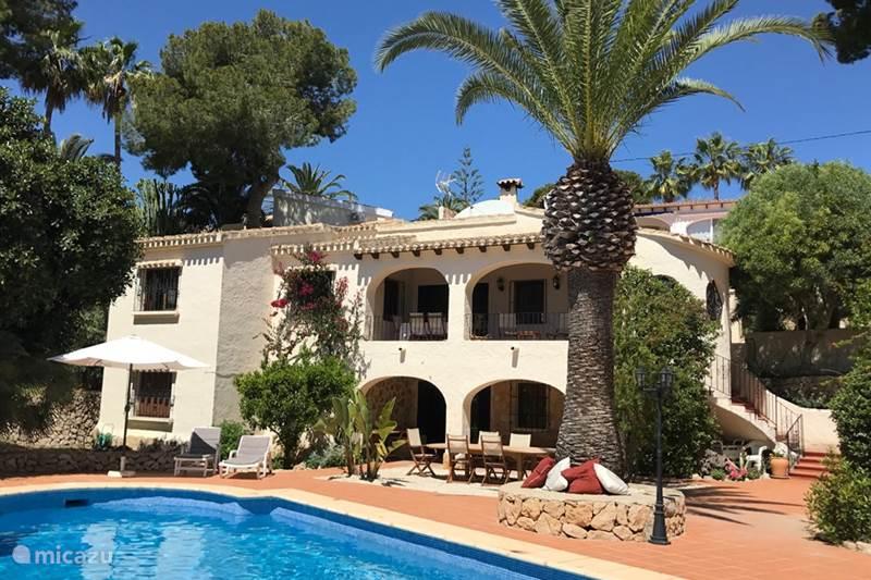 Vakantiehuis Spanje, Costa Blanca, Moraira Villa Villa Andrago