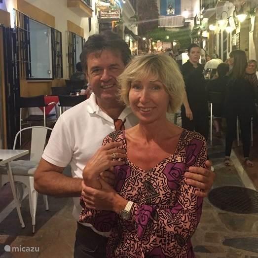 Zanna en Frank van Lieshout