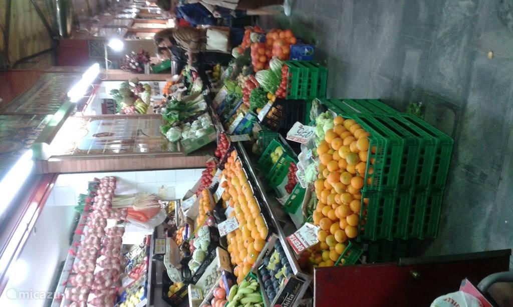 de prachtige markt vlakbij