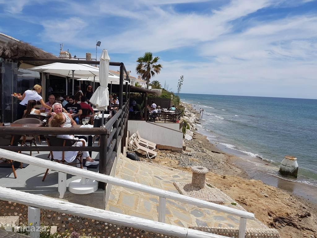 Restaurante Simnad Beach just 5 min away from Casa Sevillana