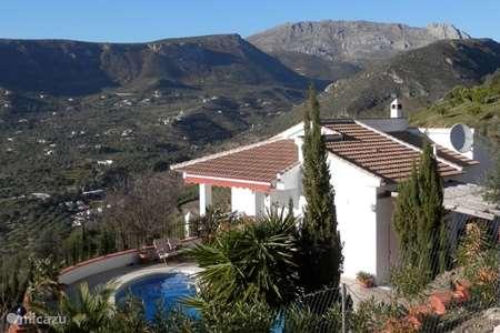 Vakantiehuis Spanje, Andalusië, Alcaucin vakantiehuis Casa Almendra