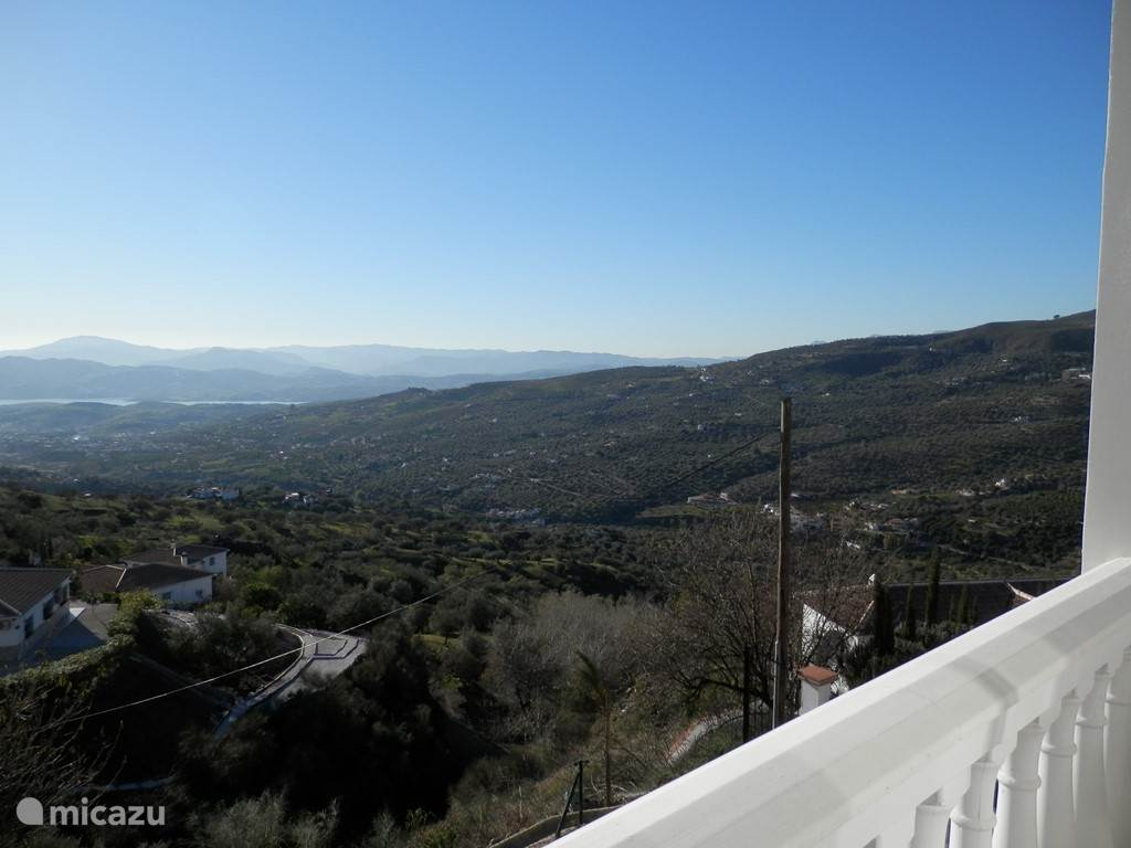 Uitzicht vanaf terras