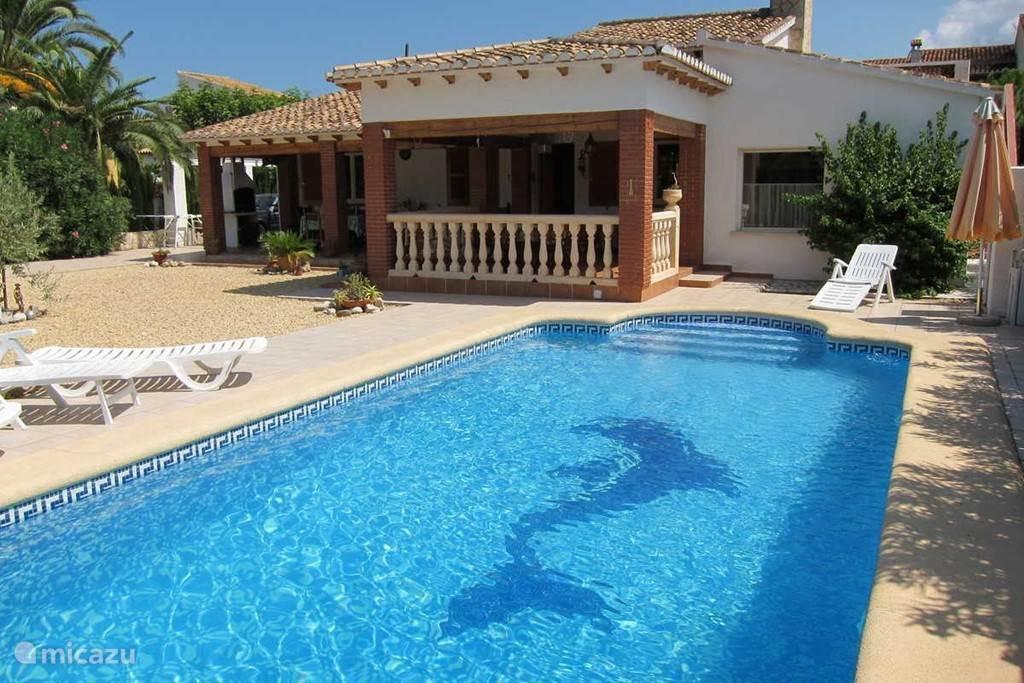 Vakantiehuis Spanje, Costa Blanca, Els Poblets - bungalow Vrijstaande bungalow met zwembad