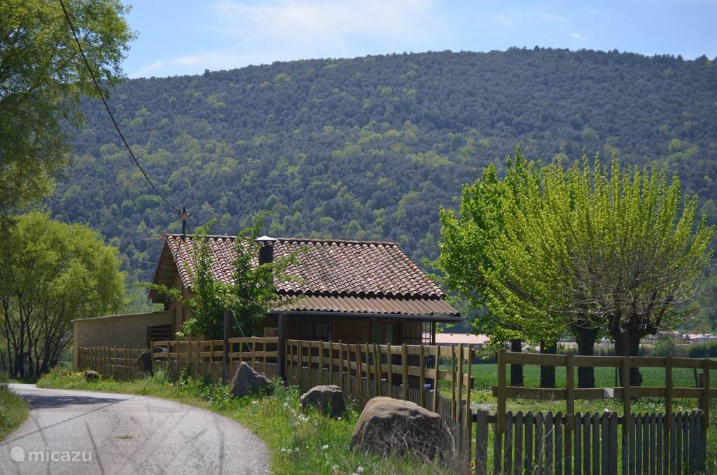 Vakantiehuis Spanje, Catalonië, Montagut I Oix bungalow Bungalow La Garrotxa