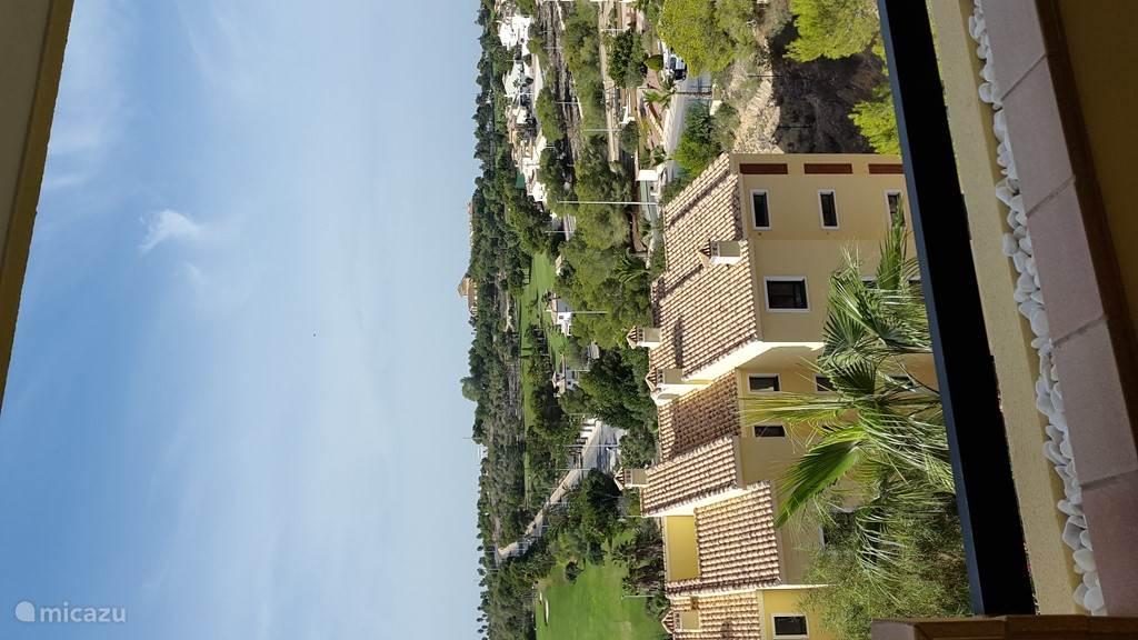 Uitzicht terras