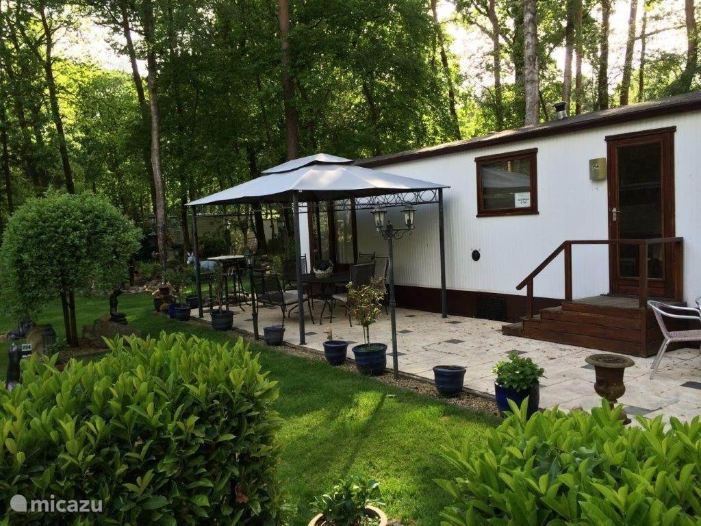 Vakantiehuis Nederland, Noord-Brabant, Hilvarenbeek stacaravan Stacaravan Beekse Bergen free wifi