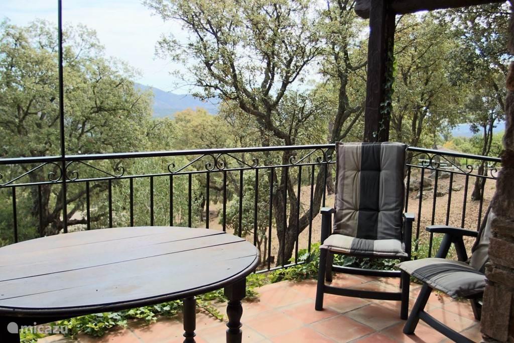 Balkon terras van appartement