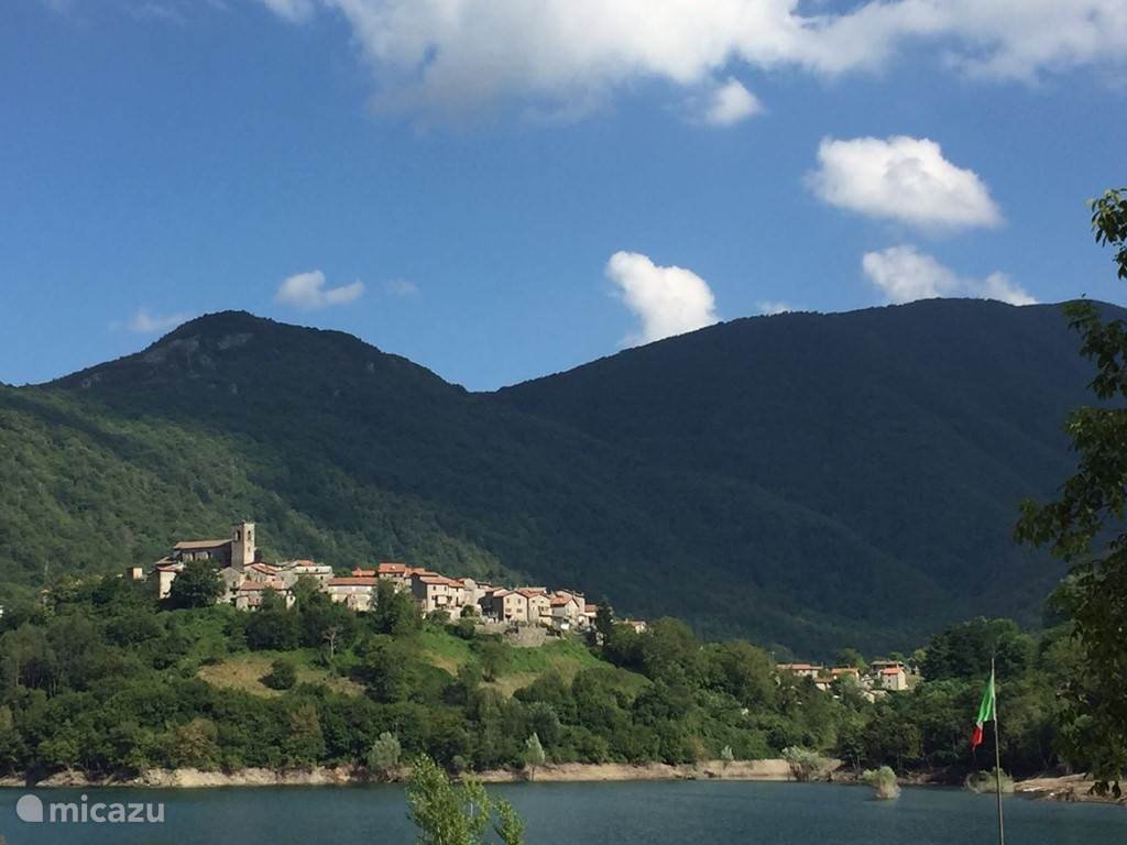 Het dorp Vagli Sotto