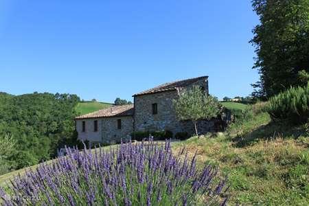 Vakantiehuis Italië, Marche, Pergola - appartement Agriturismo Carincone app Terra