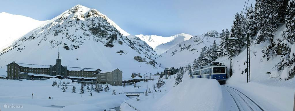 Vall de Nuria Winter