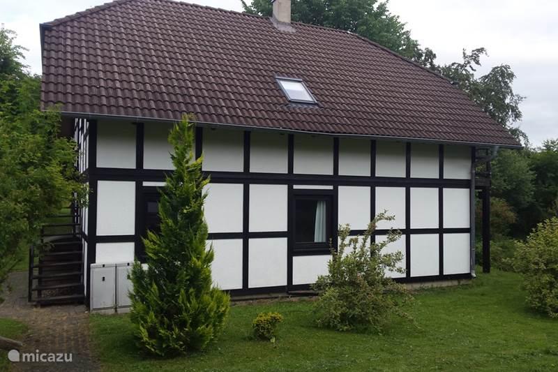 Ferienwohnung Deutschland, Sauerland, Frankenau Appartement Willkommen App Sauerland. unten
