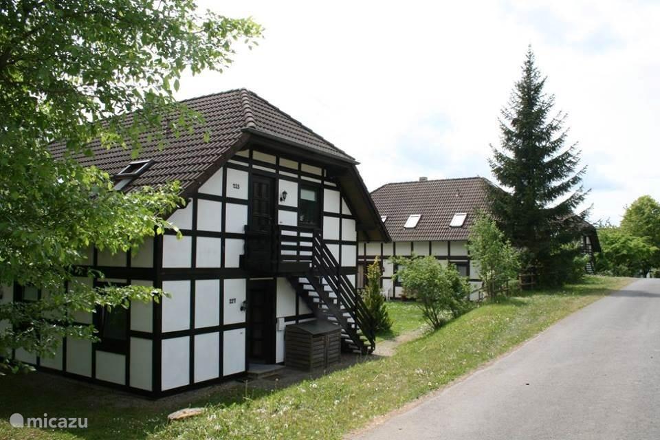 Vakwerk woning am sternberg Frankenau