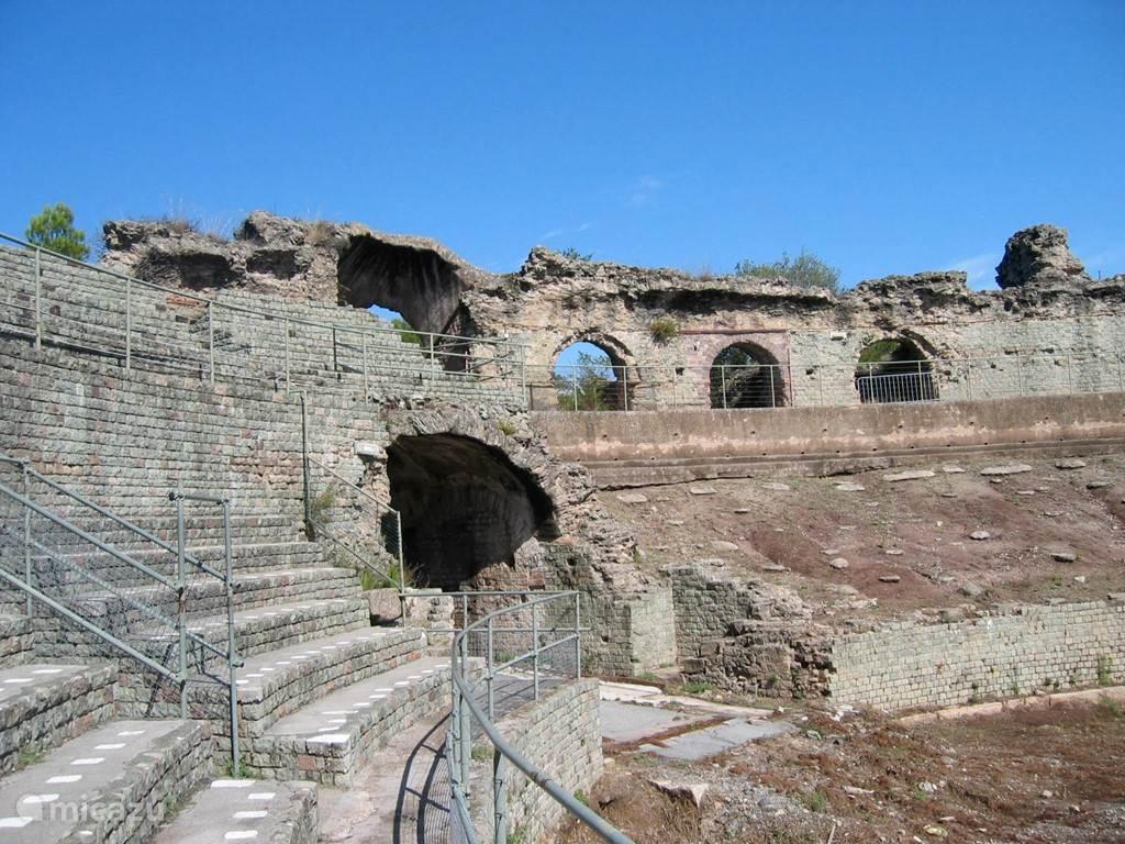 Roman arena in Frejus